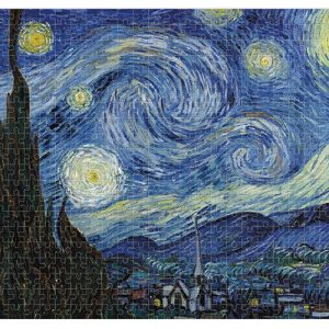 puzzle micro londji boribon starry night